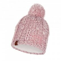Зимняя шапка BUFF 117848.506.10.00 KNITTED & POLAR HAT LIV CORAL PINK